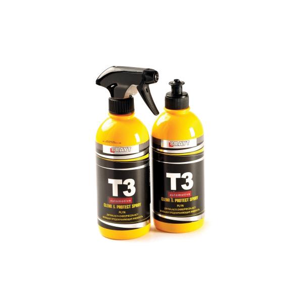 חומר ניקוי והברקת צבע T3 0.5L